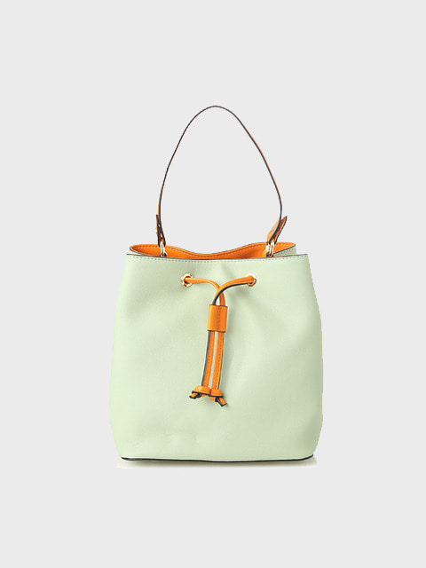 mint drawstring bag