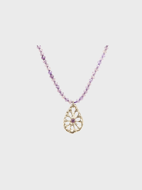 runi violet necklace