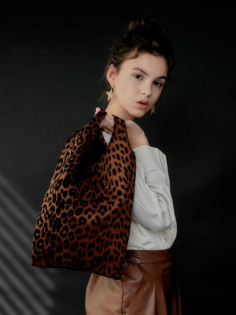 leopard bobo bag