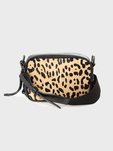 leopard cross bag